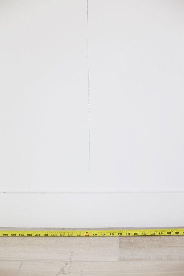 Wohnideen zum Selbermachen für Wandverkleidung - Schritt 1