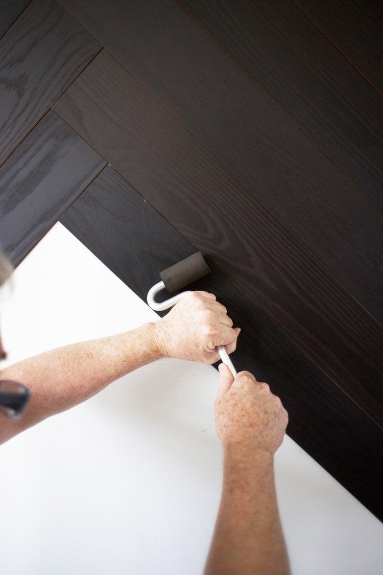 Wohnideen zum Selbermachen für Wandverkleidung - Schritt 3