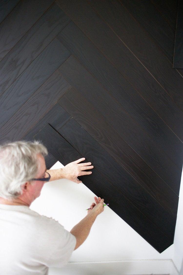 Wohnideen zum Selbermachen für Wandverkleidung - Schritt 5