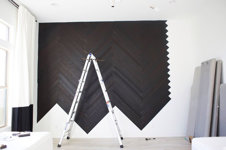 Wohnideen zum Selbermachen für Wandverkleidung - Schritt 6