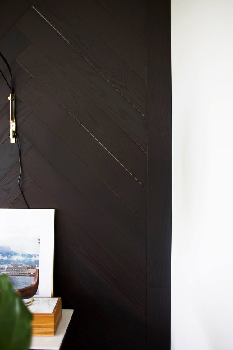 Wohnideen zum Selbermachen für Wandverkleidung in 6 Schritten