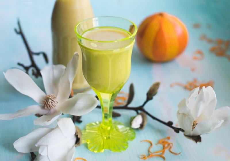 Eierlikör selber machen aromatisch mit Orangen