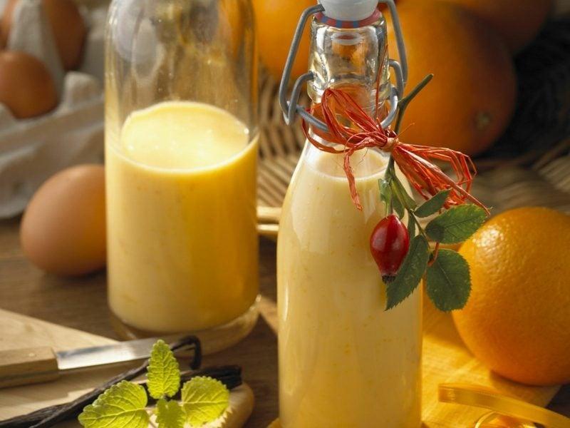 Eierlikör selber machen mit Orange
