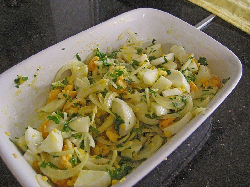 Eiersalat vegetarisch Rezept