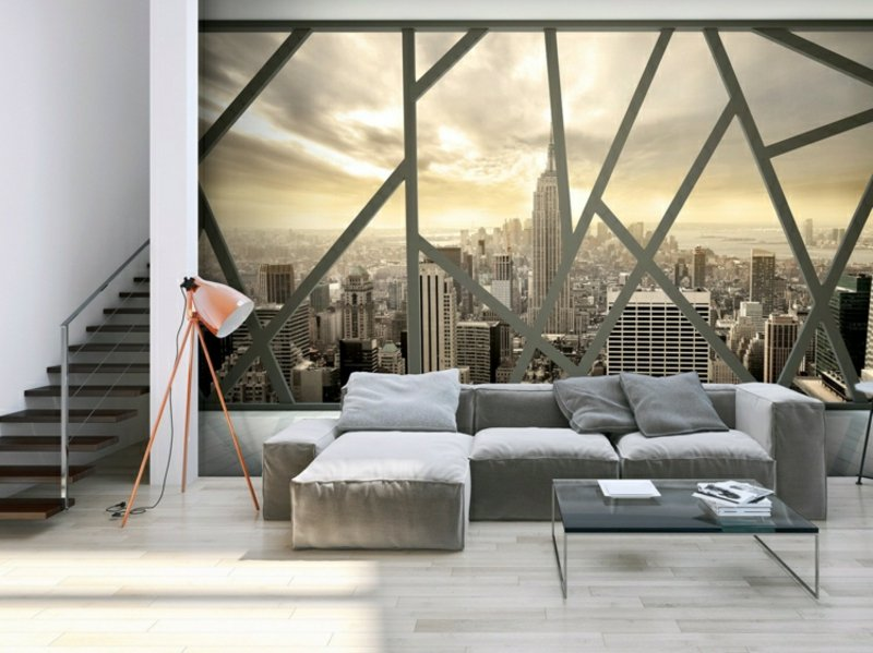 3D Fototapete New York Skyline