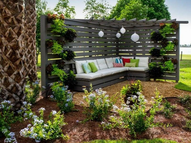 sichtschutz garten die besten ideen f r ihren au enbereich. Black Bedroom Furniture Sets. Home Design Ideas