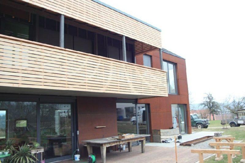 Sichtschutz Balkonverkleidung Holz