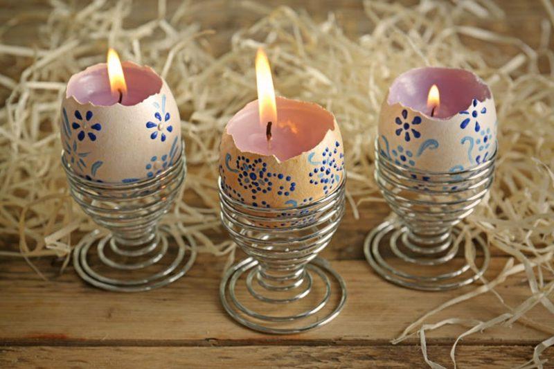 Osterdekoration Kerzenhalter