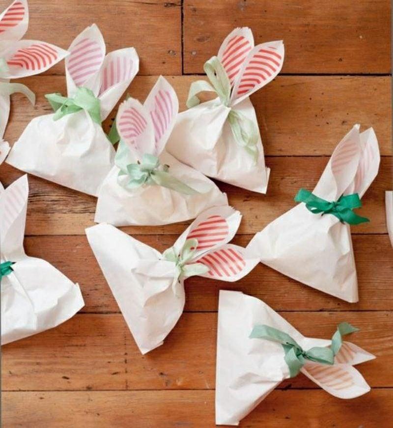 Ostergeschenke basteln aus Papier