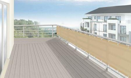 Balkonverkleidung Stoff Sichtschutz