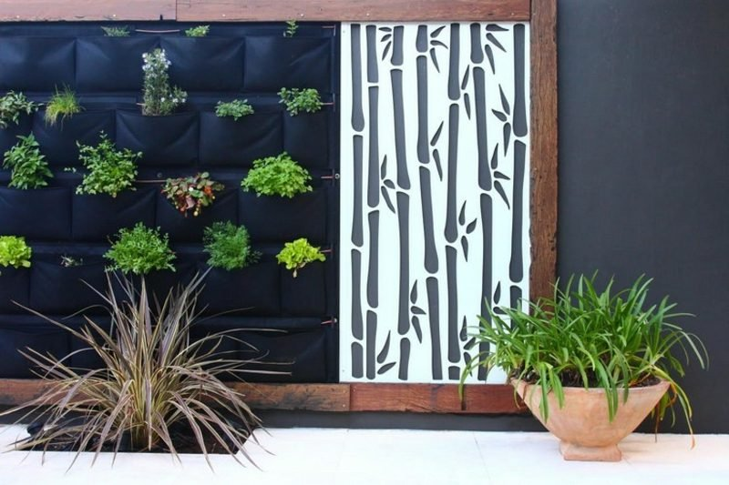Sichtschutz garten die besten ideen f r ihren au enbereich - Garten trennwand ...