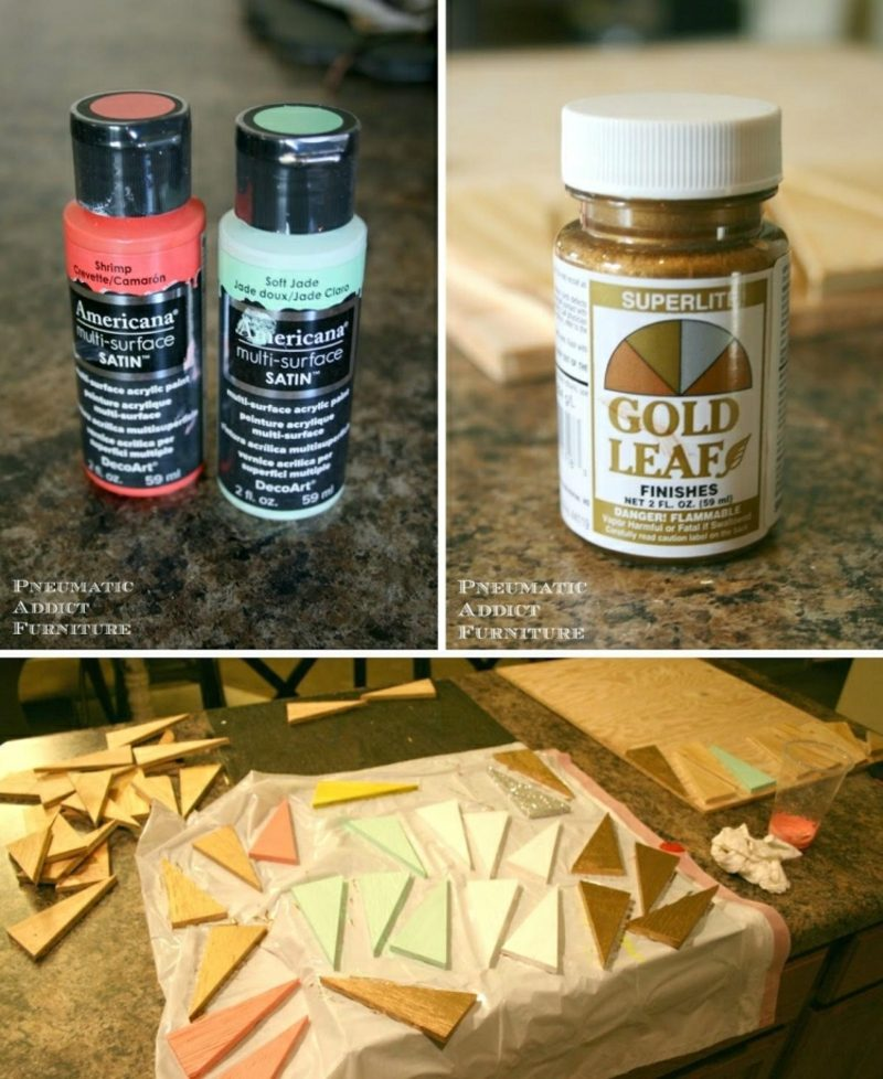 Wanddeko Holz inspirierende Ideen