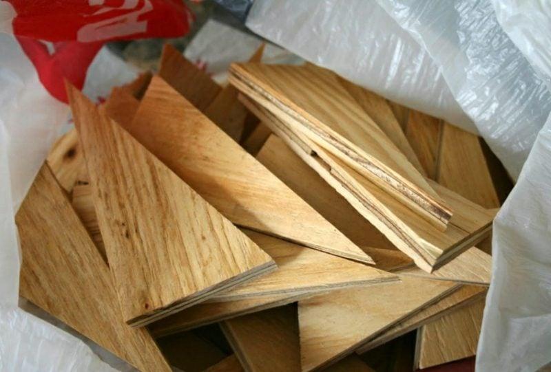 Wanddeko Holz Ideen mit Sperrholz