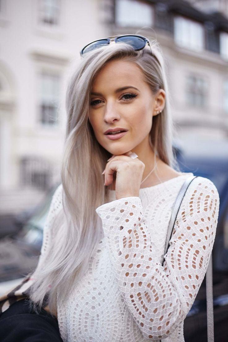 Der Urban Look fordert aschblonde Haare