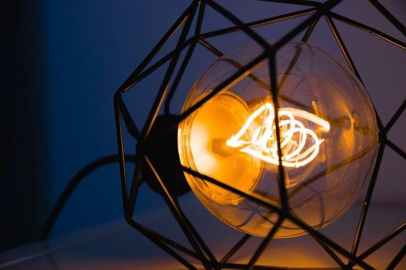 Puristische Lampenvarianten