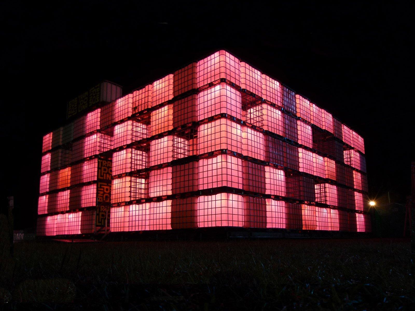 Praktisch und prachtvoll - die modernen LED Container