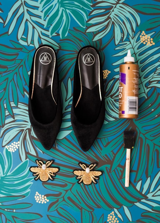 DIY Damenschuhe Aufpeppen: Notwendige Materialien