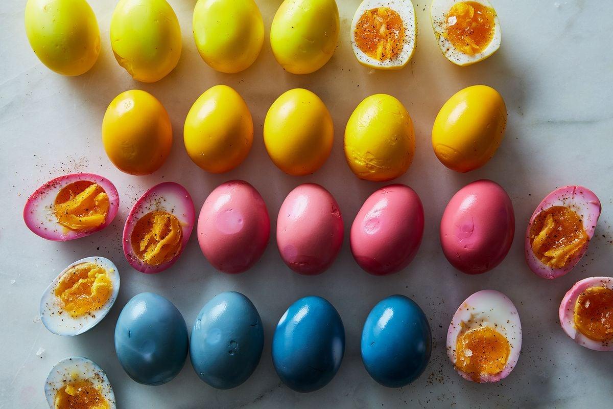Eier kochen Ostereier kochen