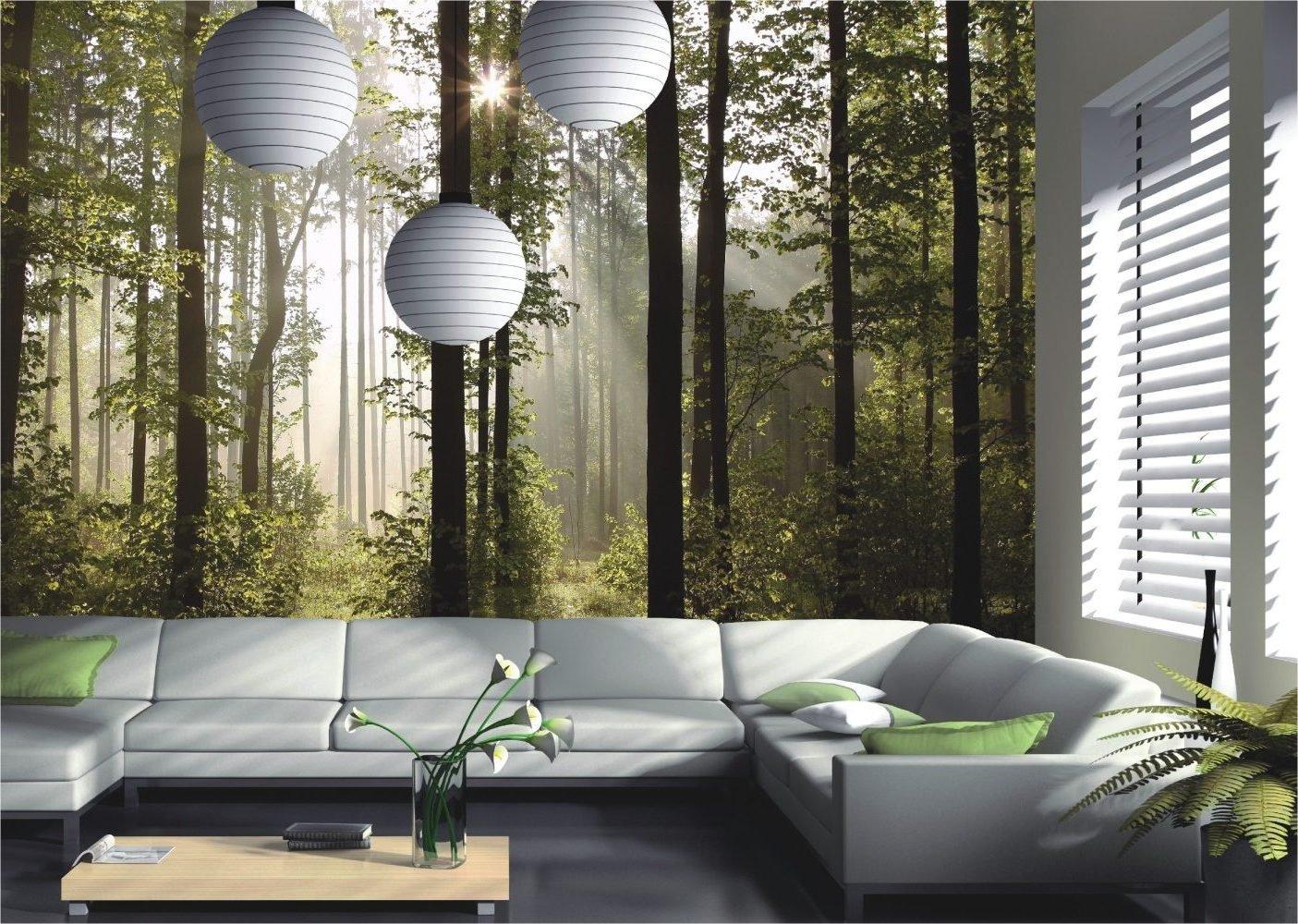 Fototapete - Inszenieren Sie einen verwunschenen Ort in Ihrem Wohnzimmer