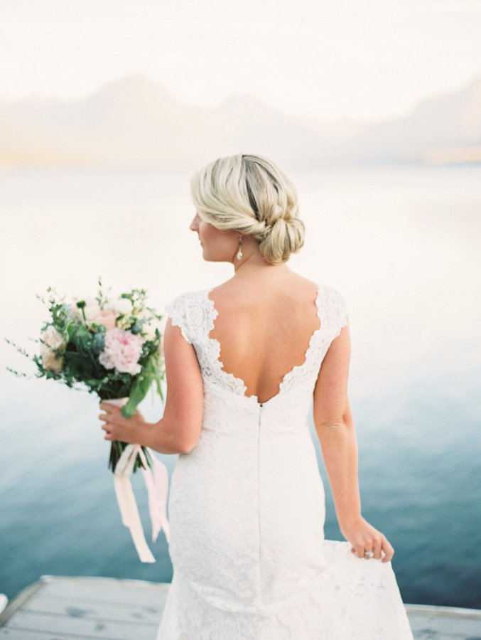 Die beste Alternative für eine Hochzeit im Sommer ist die Hochsteckfrisur