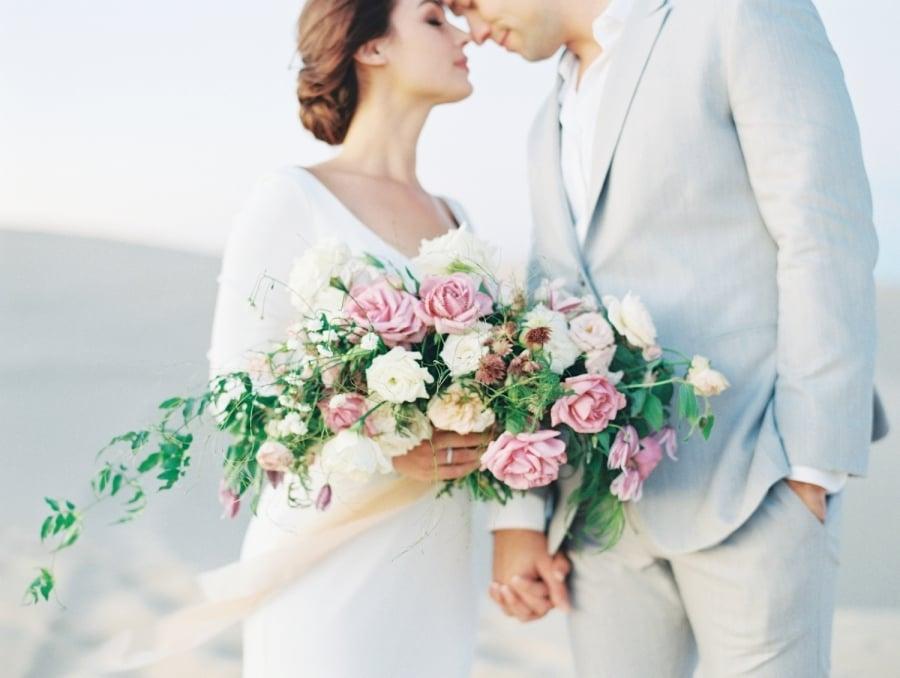 Umwerfende Braut-Look mit Hochsteckfrisur