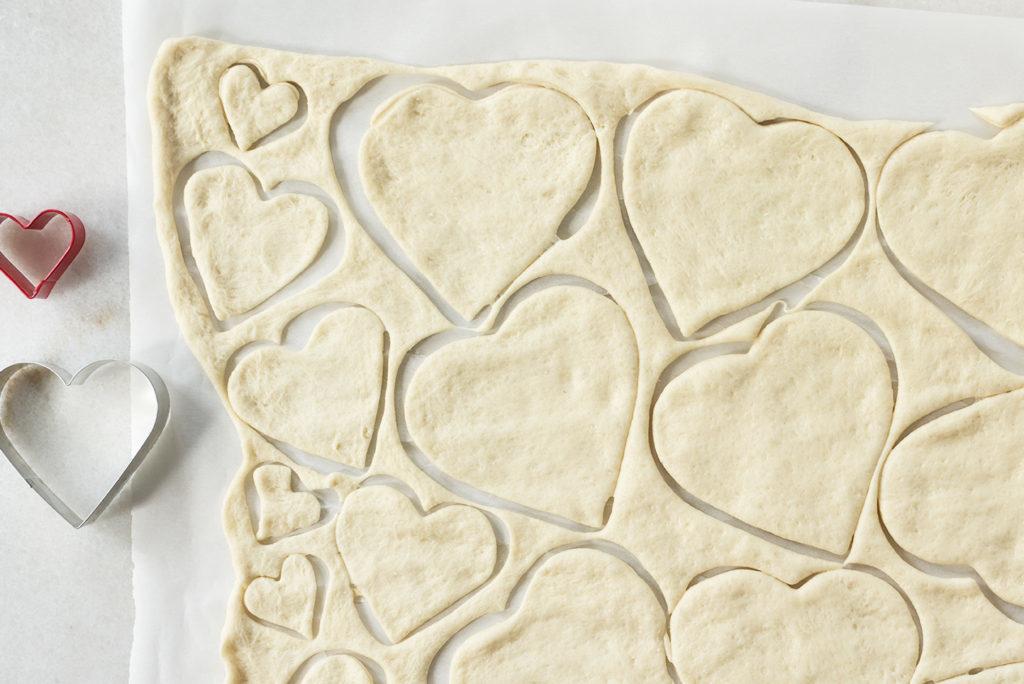 Schmackhafte Ideen mit Herz - Pizza Häppchen