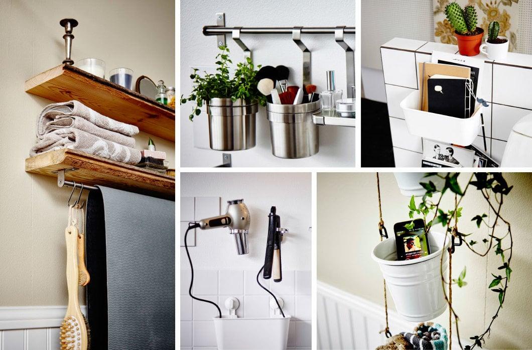 Kluge Lösungen für Ordnung im Bad mit IKEA Badmöbeln