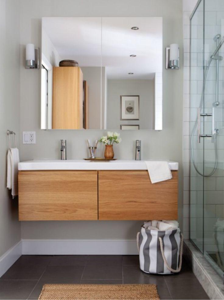 Das moderne Badezimmer mit IKEA