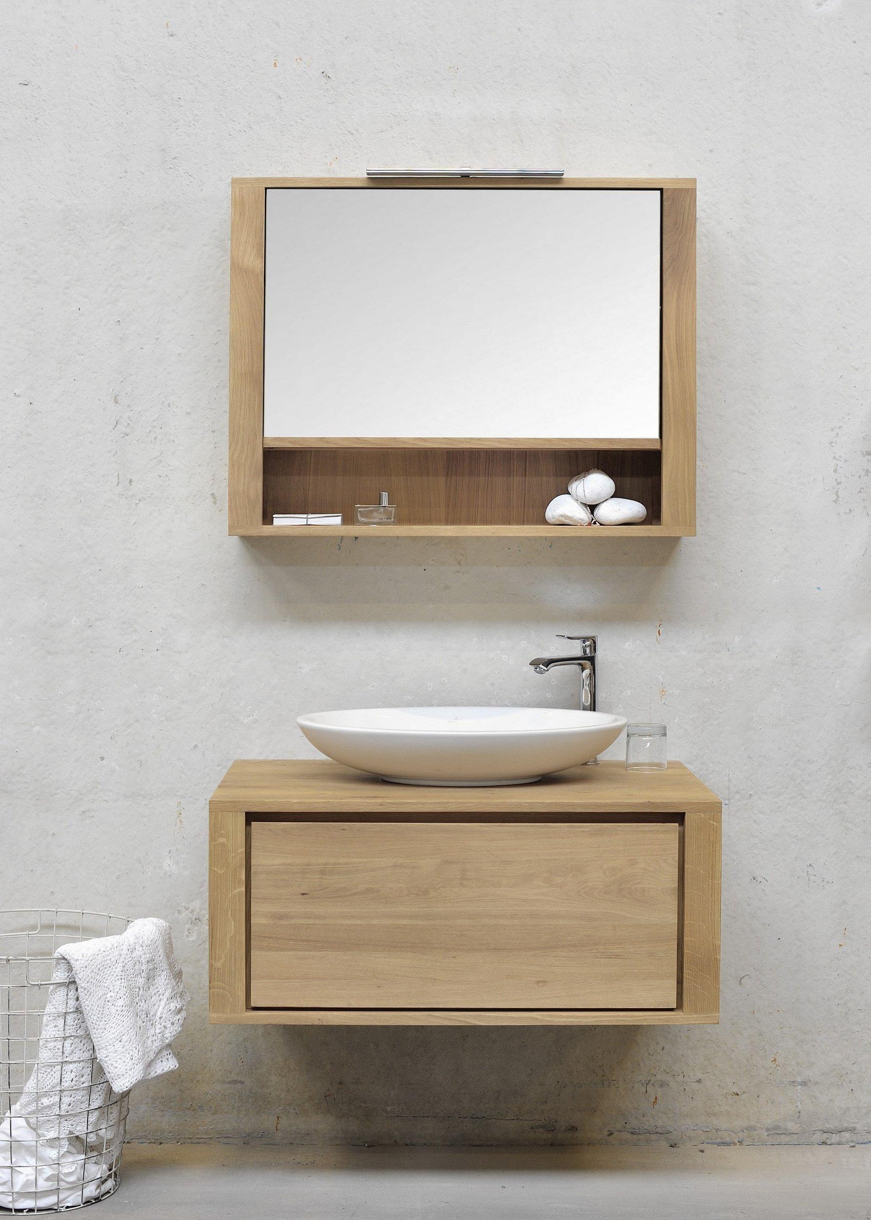 Tipp 6: Spiegel, Spiegel an der Wand, wo gibt es mehr Platz in meinem Bad