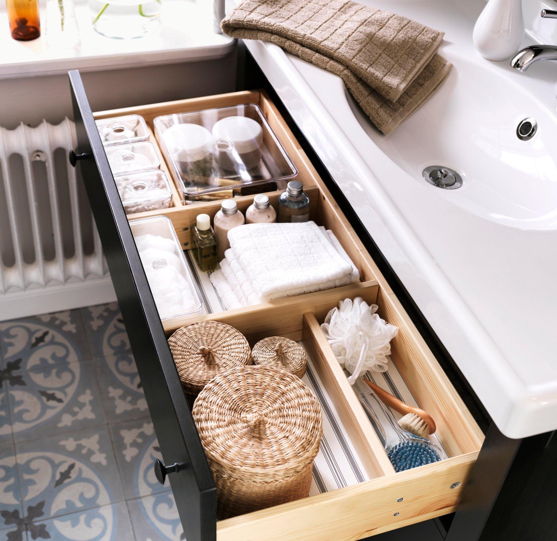 Tipp 3: Das Inneneinrichtungssystem ist die allgemeine Lösung für die Ordnung im Badezimmer