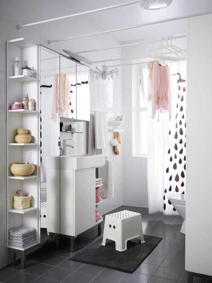 Intelligente Lösungen für Badgestaltung mit IKEA