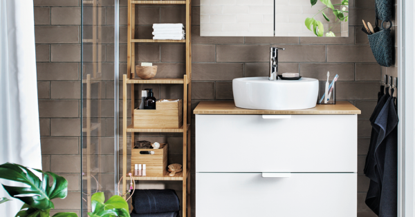 ikea badm bel voller funktionalit t und feinheit badezimmer zenideen. Black Bedroom Furniture Sets. Home Design Ideas