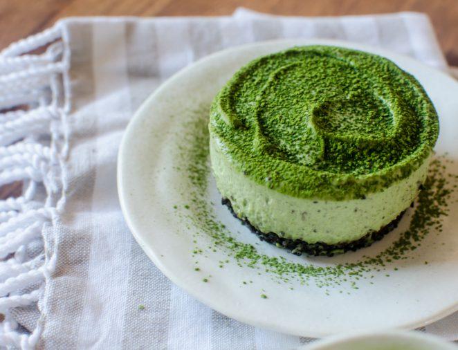 Grün und lecker - lerenen Sie hier, wie diese Low Carb Käsekuchen Muffins zu zubereiten