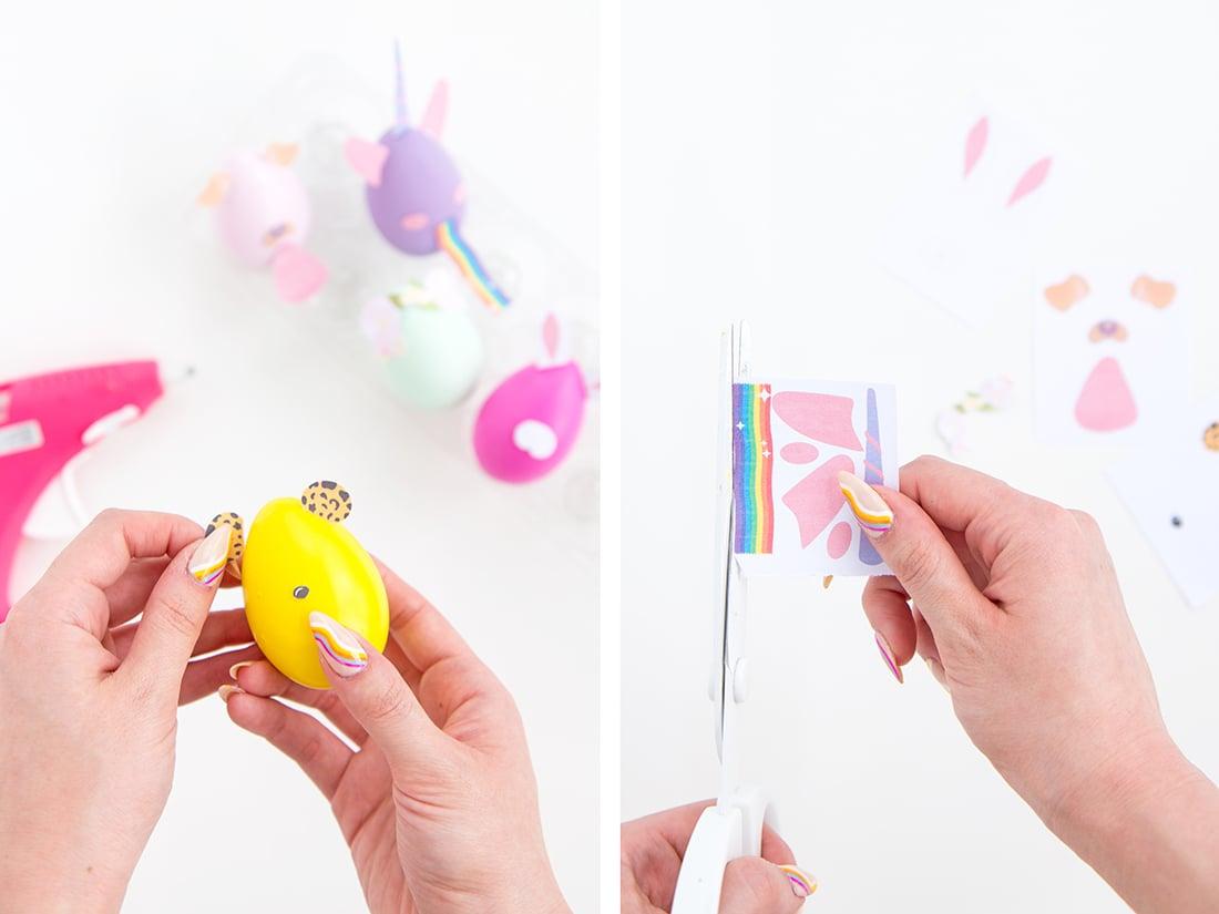 DIY Anleitung für lustige Eier Gesichter
