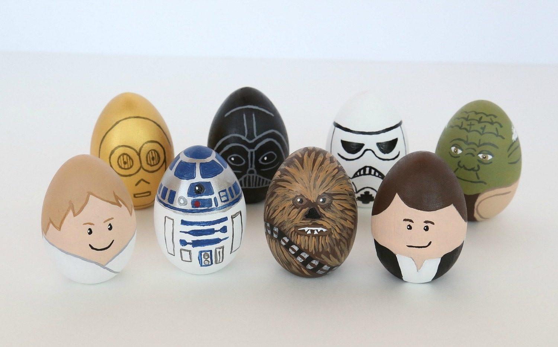 Star Wars Inspirationen für Ostereier