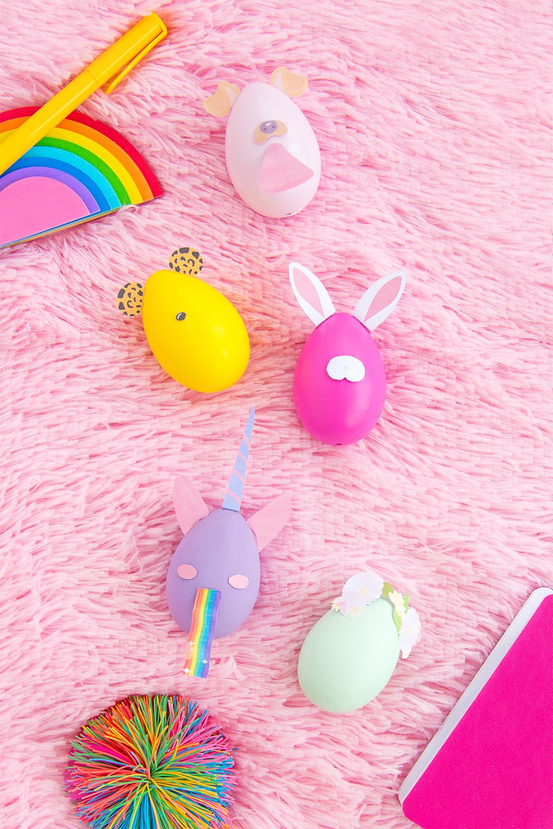Alle Modele von unsere Snapchat inspirierten Ostereier