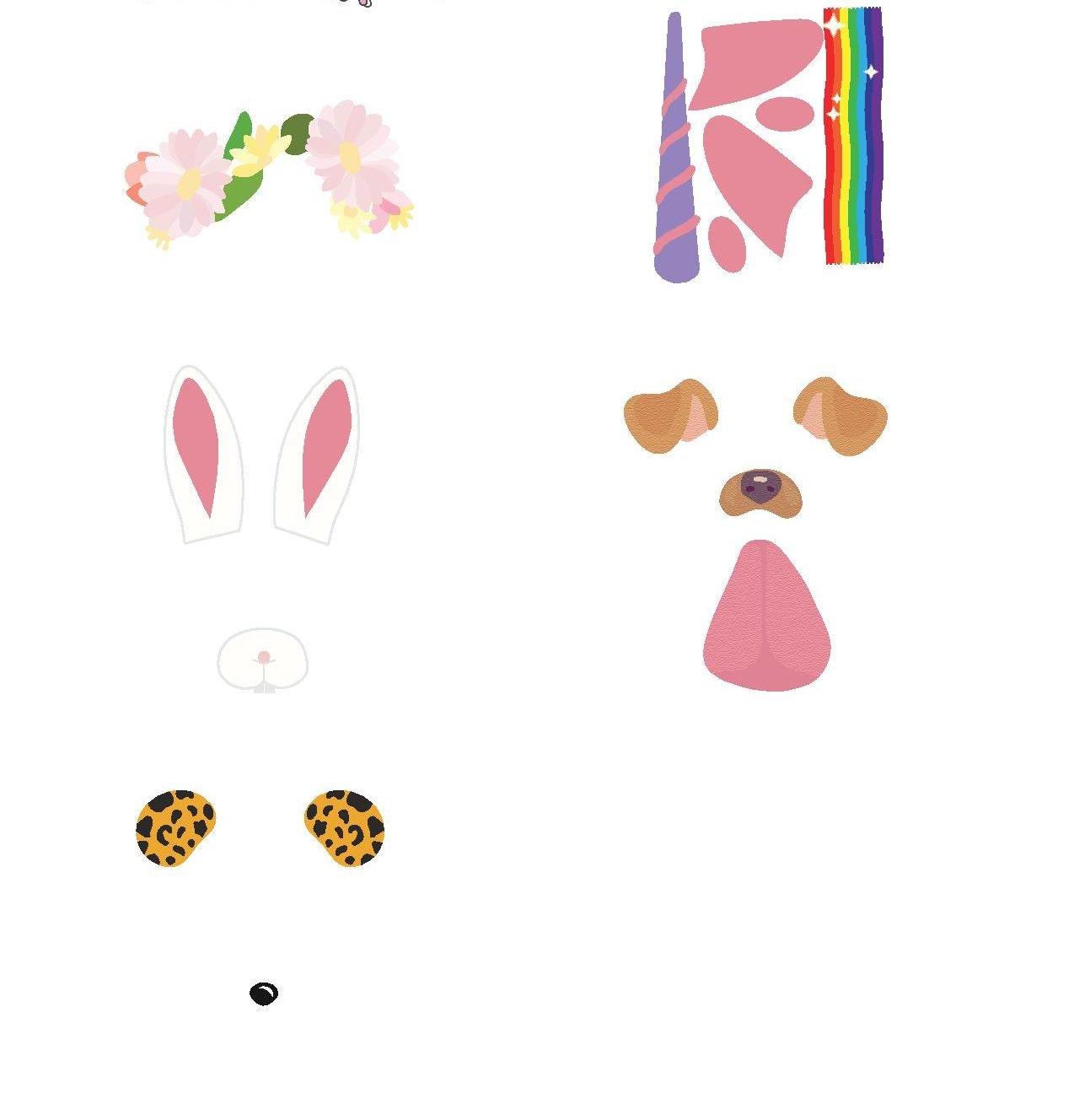DIY Anleitung für lustige Eier Gesichter: laden Sie diese Vorlage kostenlos herunter
