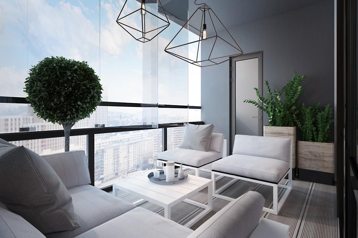 Moderne Terasse ist Ihr Sommerwohnzimmer