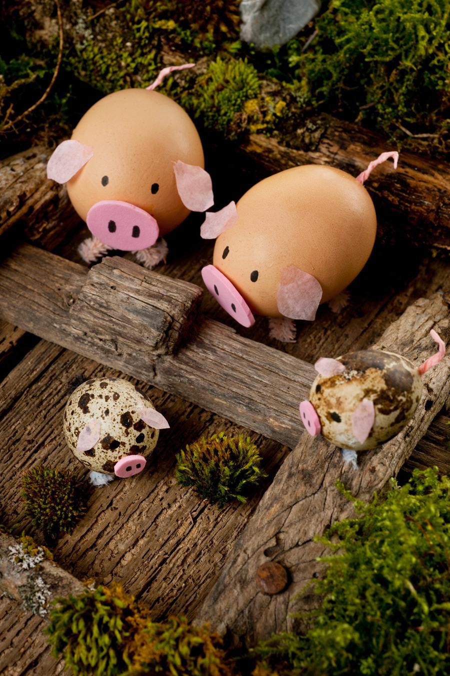 Überraschen Sie die Kinder bei der Ostereiersuche mit diesen herrlichen Ostereiern!