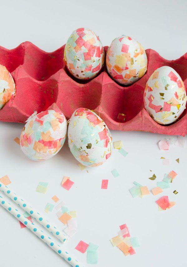 Technik #10 für Ostereier ohne Farbe Färben - lernen Sie mehr hier!