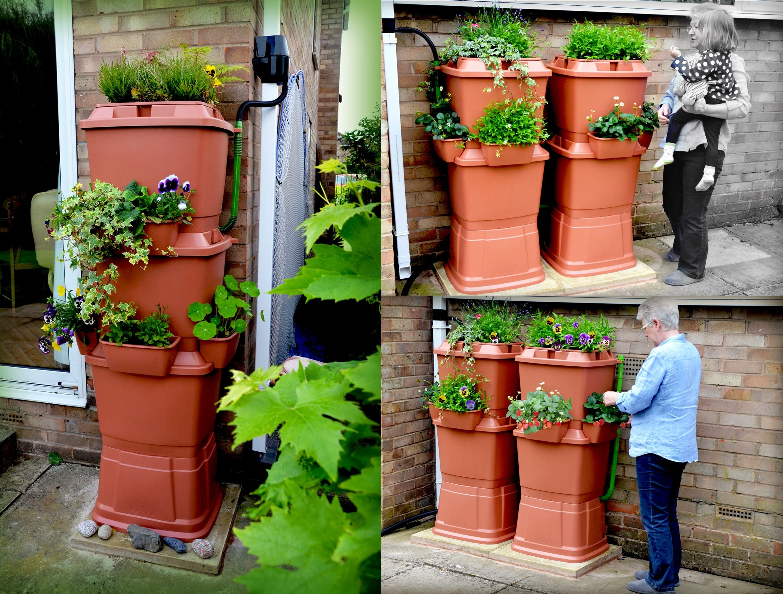 Gartenbewässerung mit Regenwasser