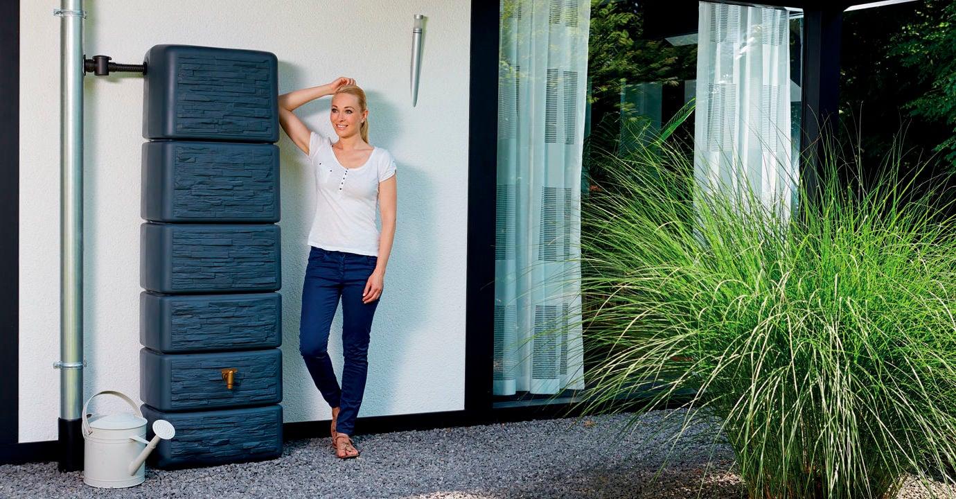 die trickreiche l sung ziehen sie nutzen aus dem regenwasser haus garten umweltfreundlich. Black Bedroom Furniture Sets. Home Design Ideas