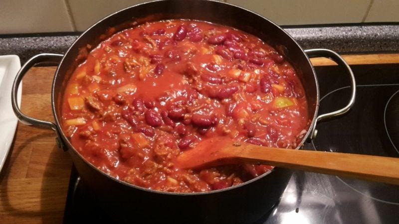 Jamie Oliver 15 Minuten Rezepte Chili kochen