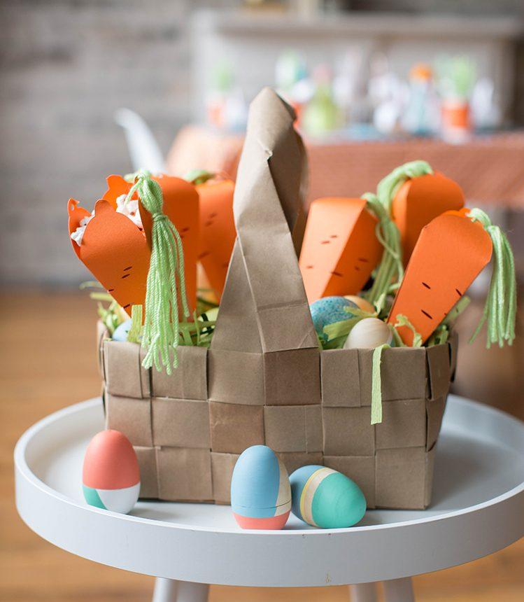 Bastelideen Ostern: Kreieren Sie einige schöne Karotten mit Puffmais zu Ostern