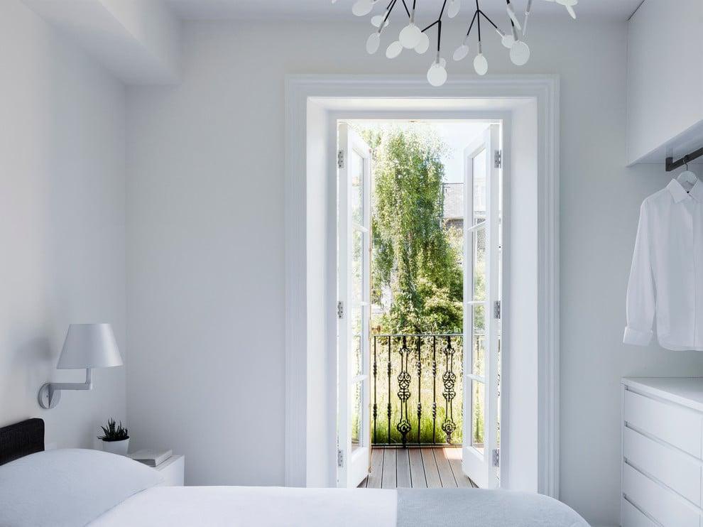 Französische Fenster Gitter - Dekoration Ideen