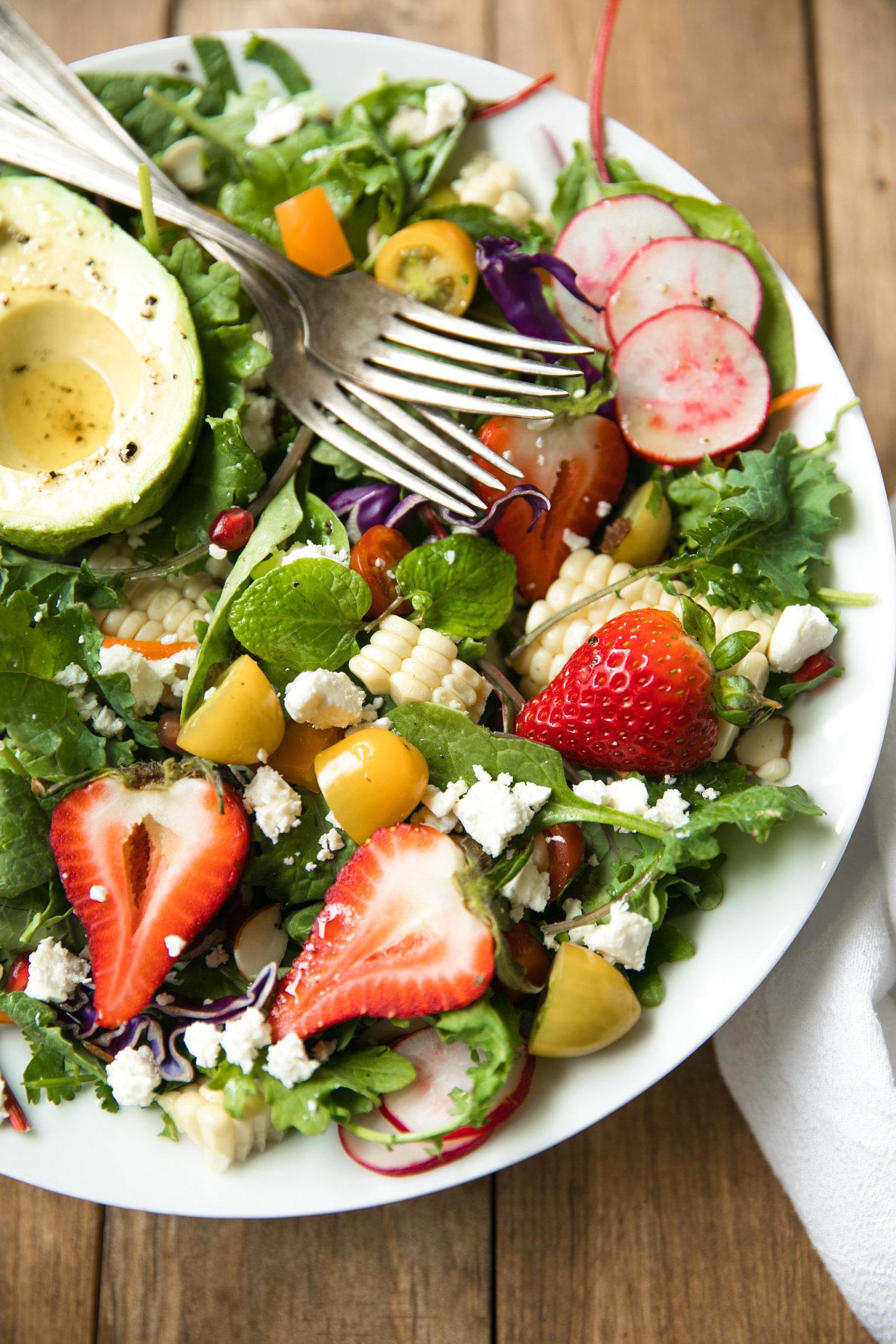 Lesen Sie hier einige leckeren Rezepte für Frühlingssalat
