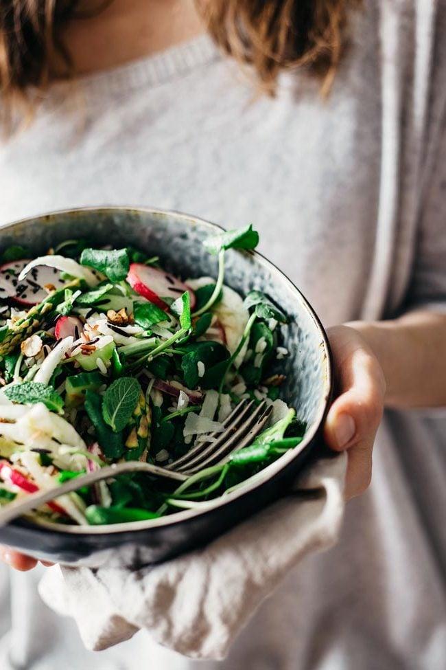 Frühlingssalat №2: Der grüne Geschmack
