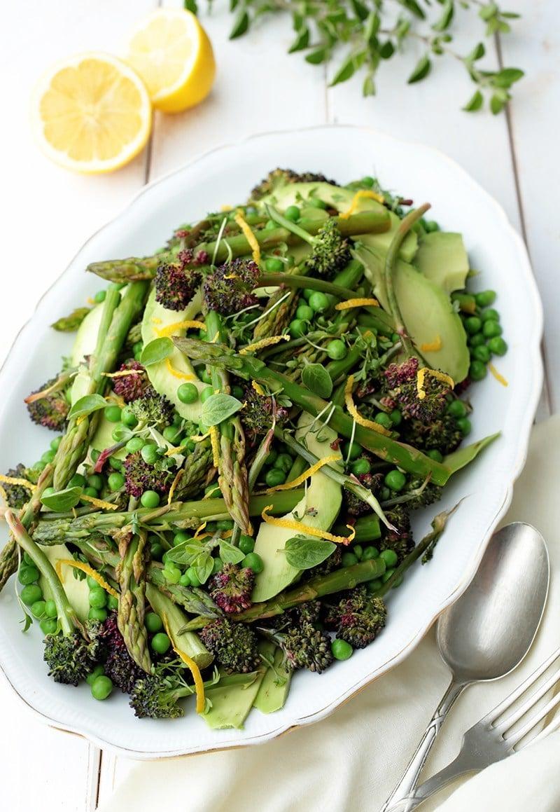 Schmackhafte Rezepte für einen bunten Frühlingssalat