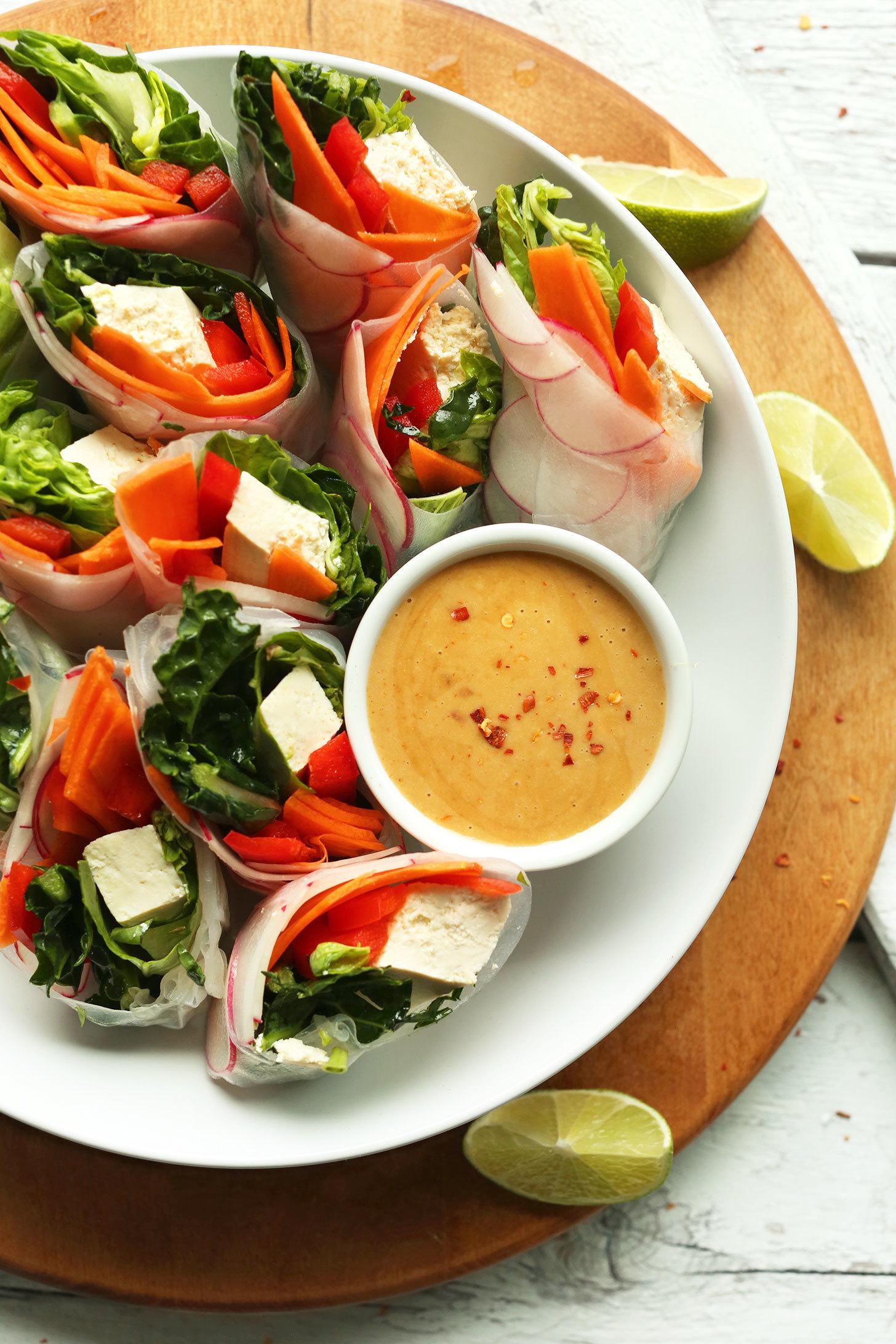 Das beste Dressing für Ihren Frühlingssalat ist....