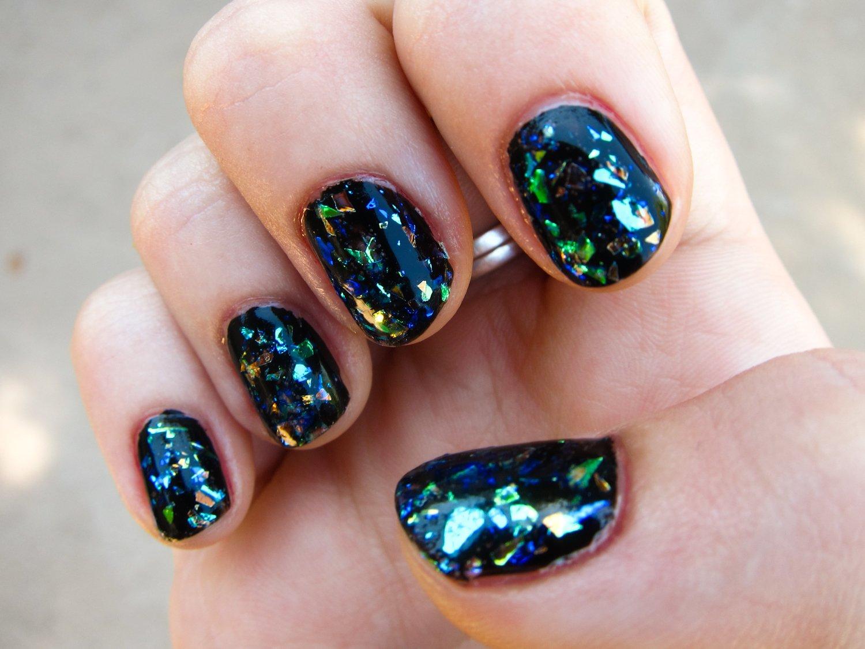 Strahlen Sie hell wie einen Diamant mit unserer Anleutung für Glitzer Gelnägel mit Glas-Effekt